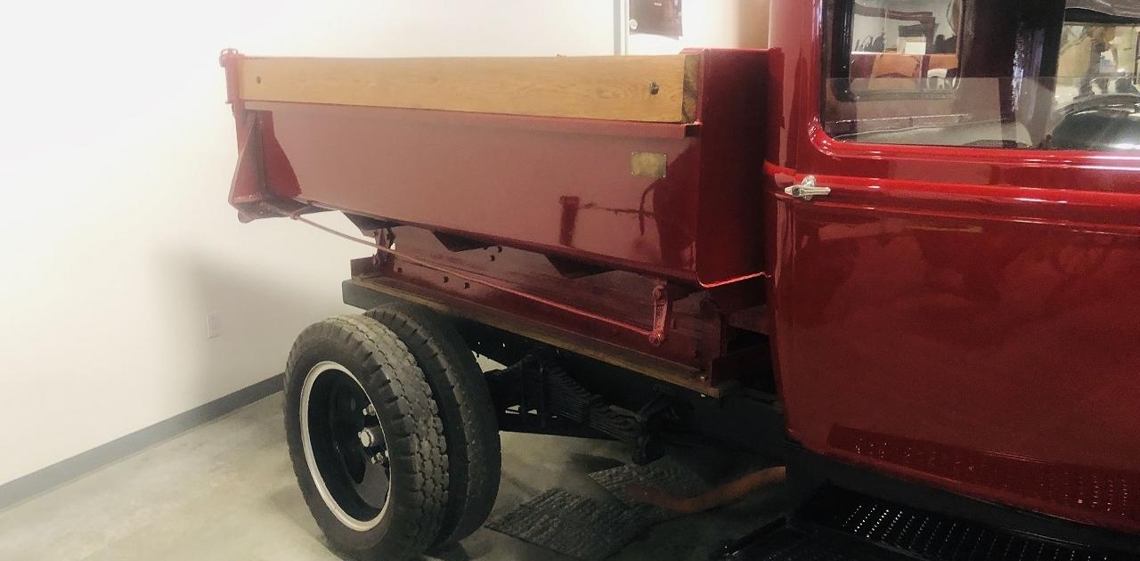 1931 Ford Model AA steel Dump Bed