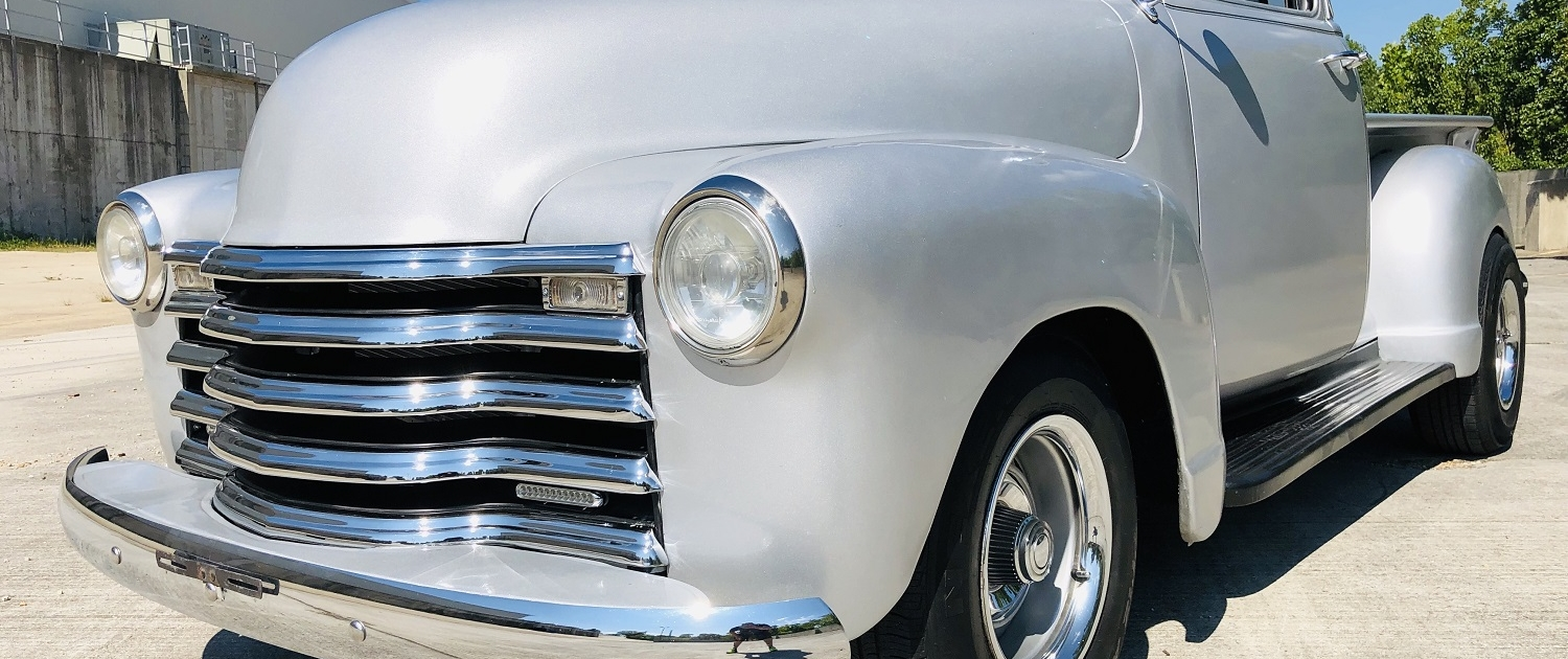1952 Chevy Pick up Silver