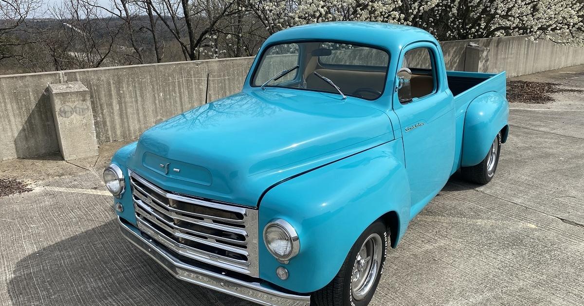 1959 Studebaker 1/2 ton pickup